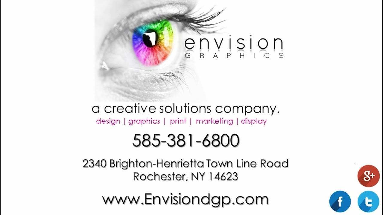 Envision Graphics Inc Rochester Ny Signs And Vehicle Wraps Youtube
