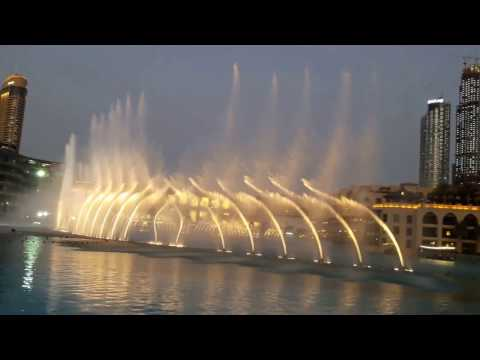 water dance burj khalifa | Sama Dubai Mehad Hamad | arabic song 2017/2018