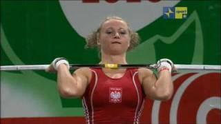 Repeat youtube video la22enne marzena karpinska SOLLEVA 96KG
