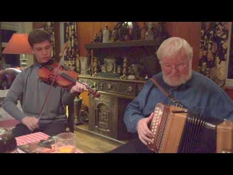 Accordionist Joe Burke and Fiddler Andrew Caden