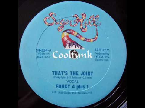 """Funky 4 Plus 1 - That's The Joint (12"""" Rap 1980)"""