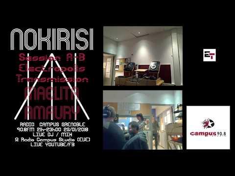 Session A-B Electropolis Transmission Nokirisi_Maelita & Amaury live @ Radio Campus Grenoble 90.8FM