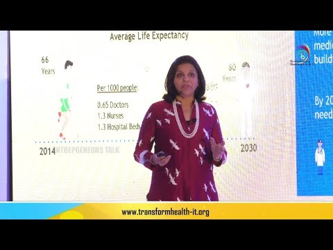 Sangita Reddy on Tomorrow's Technology Enabled Health Care Today