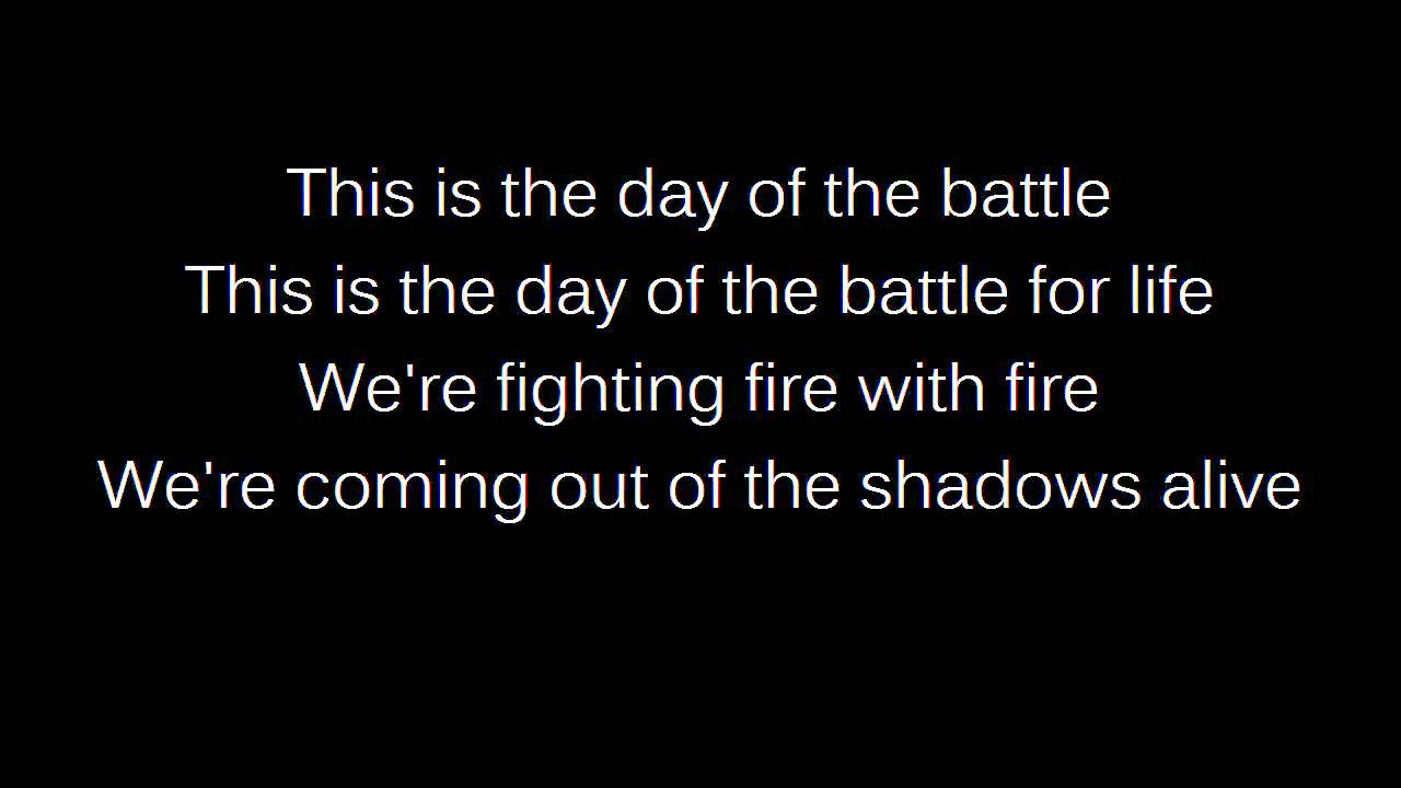 Songtext von Jonas Myrin - Day of the Battle Lyrics