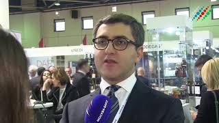 Смотреть видео Вице-президент AZPROMO об азербайджанском стенде на выставке
