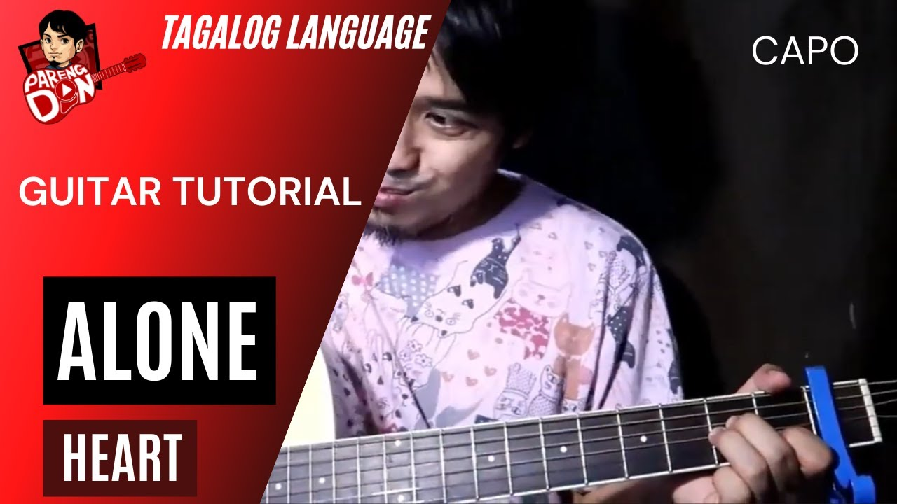 Alone Guitar Tutorial (Heart) how to play intro and chords
