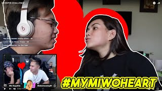 #MYMIWOHEART | WHISPER CHALLENGE REACTION VIDEO WITH JAPEPE