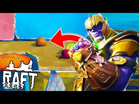 THANOS POTATOES - RAFT SURVIVAL w/ Tewtiy #2
