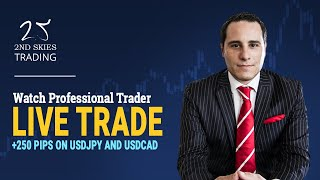 Live Price Action Trading +250 Pips on USDJPY and USDCAD