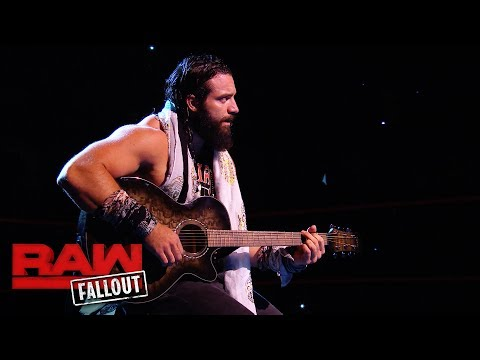 Elias serenades the WWE Universe before Raw: Raw Fallout, Sept. 4, 2017
