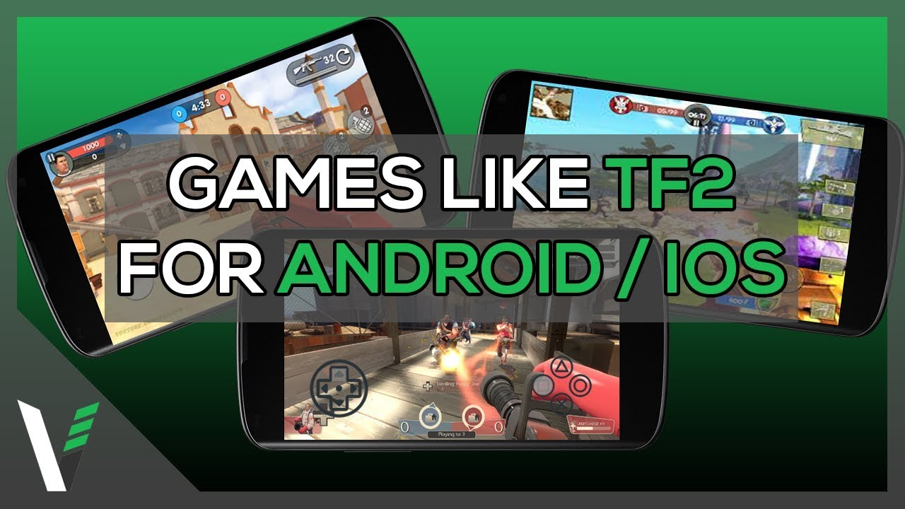 5 Games Like Team Fortress 2 For Android Ios Youtube