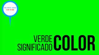 Verde - Significado del color Verde