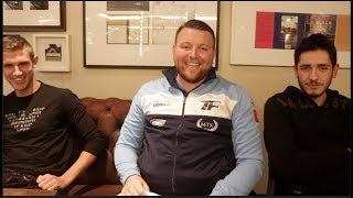 'THIS IS HUGHIE FURY'S DESTINY' - INTRODUCING LEVI FRANKHAM, BILLY BRANDON & BIG JOE 'HAYMON' FURY