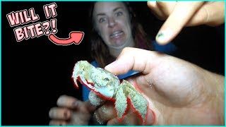 TERRA GETS TERRIFIED ON OUR 3AM BEACH WALK!! WHAT HAPPENED TO JESSE?!