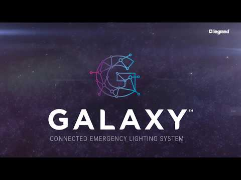 GALAXY – Connected Emergency Lighting System – product video