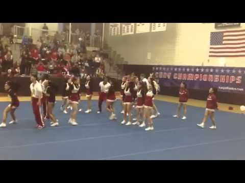 Brooklyn College Cheerleaders 2013