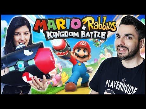 MOLTO MEGLIO DEL PREVISTO! Mario+Rabbids Kingdom Battle gameplay