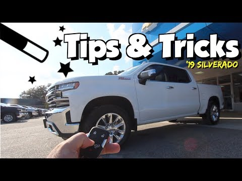 ( Did You Know? ) 2019 Chevy Silverado - Tips, Tricks & New Features | REVIEW & DEMO