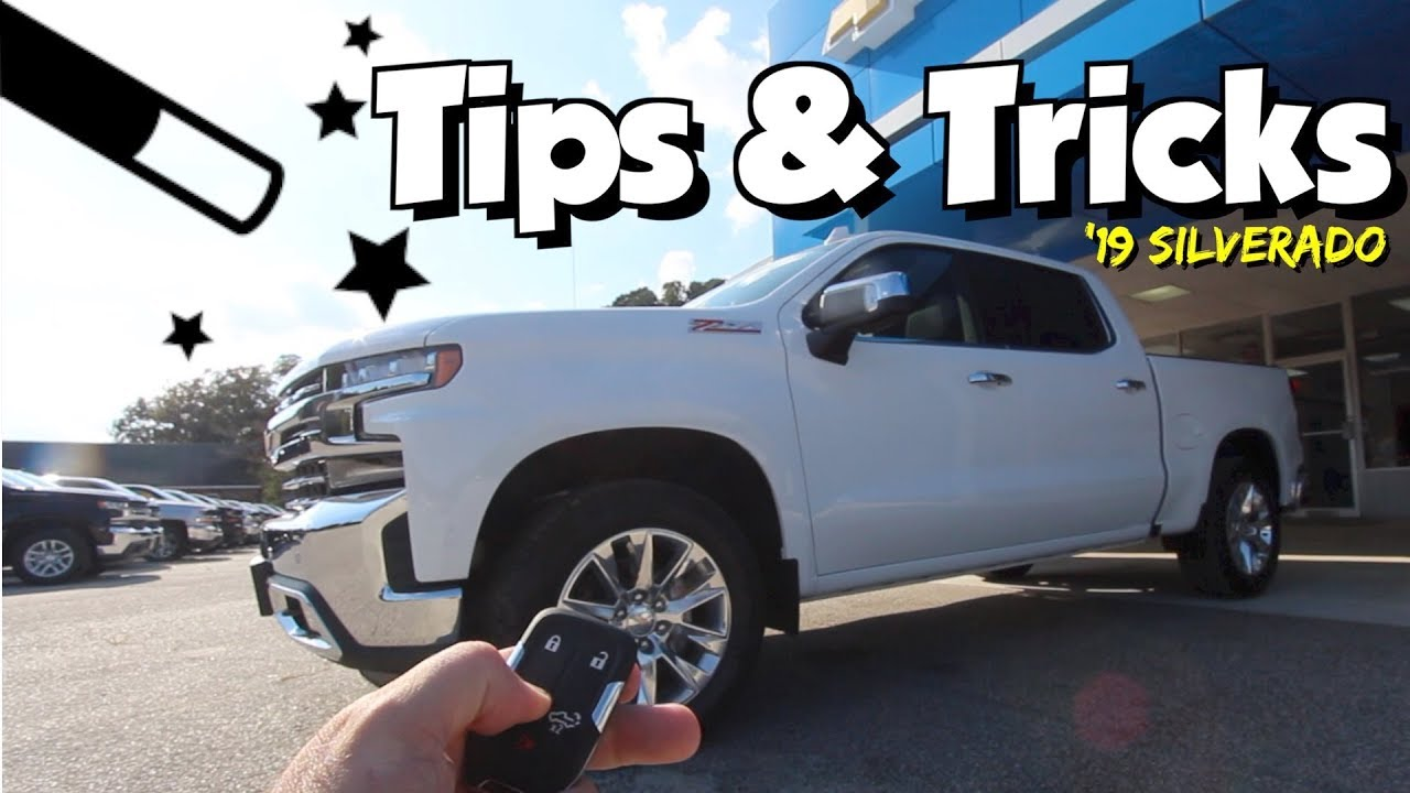 Did You Know 2019 Chevy Silverado Tips Tricks New Features