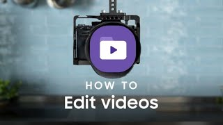 Galaxy Note10: How to use the Video Editor