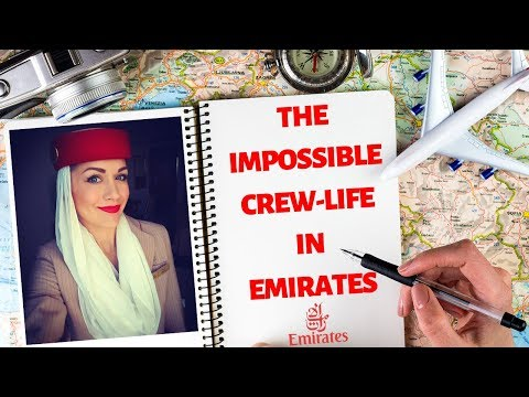 ✈️ TOP 5 TERRIBLE THINGS: LIFE OF EMIRATES FLIGHT ATTENDANTS | EMIRATES 2019