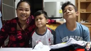 07-12-18 #เมืองไทยวันที่5 ทานข้าวกับครอบครัว Vicky😁เสื้อร้านประจำ🙄