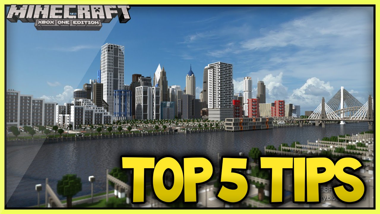 Things To Build In A City In Minecraft