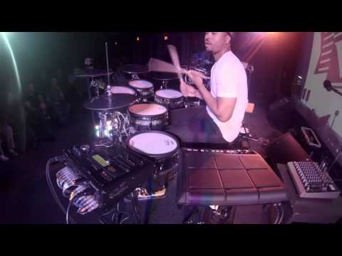 Tony Royster Jr  crazy metronome practice with the TD 30 ROLAND