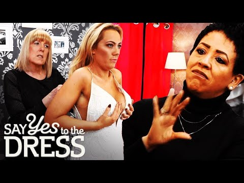 🔴 Bride Wants A Dress That Will Fit Over Her Breasts | Say Yes To The Dress UK