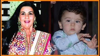 Whot ! Saif's ex wife Amrita Singh takes care of Taimur Ali Khan in Kareena's absence  Shocking
