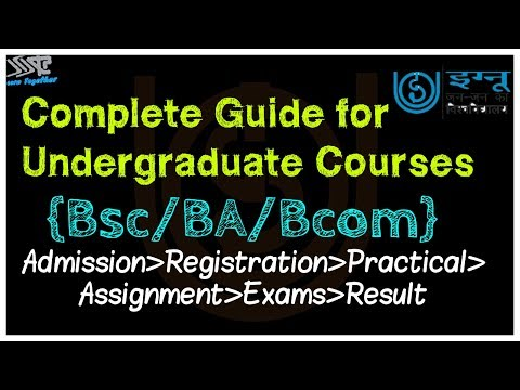 IGNOU COMPLETE GUIDE FOR UNDERGRADUATE COURSES BA/BSC/BCOM