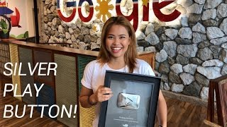 finally got my silver play button how to be a youtuber