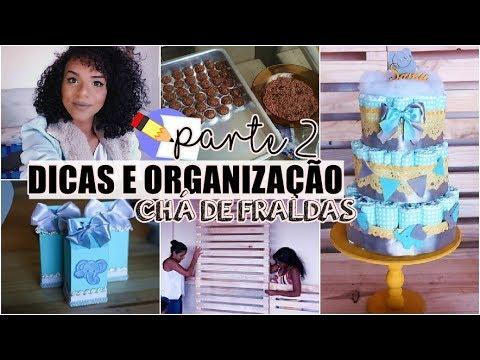 DICAS PARA ORGANIZAR E ECONOMIZAR NO CHÁ DE FRALDAS #2