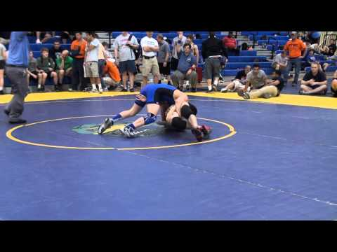 106 Jr 3rd Anthony DiNinno Bones vs Abe Guarriello Victory