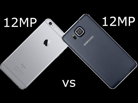 12 MP camera comparison: Samsung Galaxy Alpha vs. iPhone 6S Plus