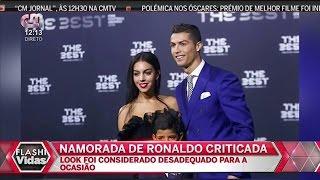 Georgina Rodriguez Namorada De Cristiano Ronaldo Criticada Por Usar Vestido Muito Curto Numa Visita