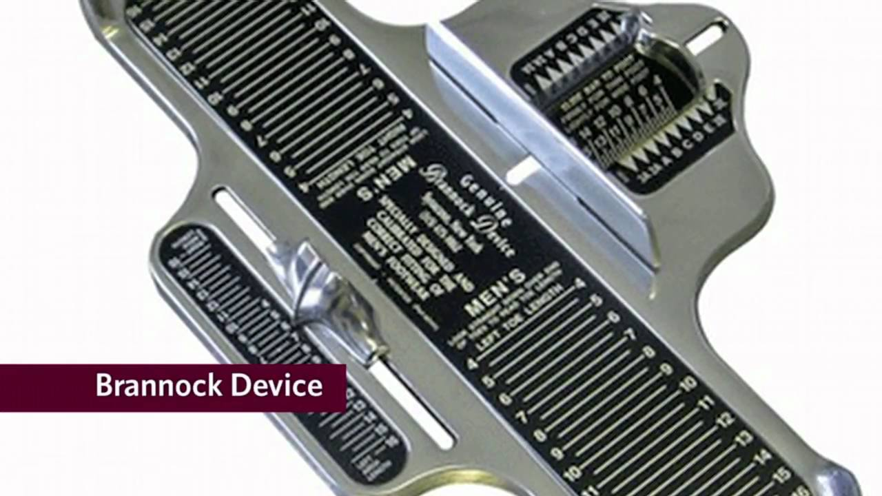 photo about Printable Brannock Device known as Allen Edmonds Learn Shoe Fitting