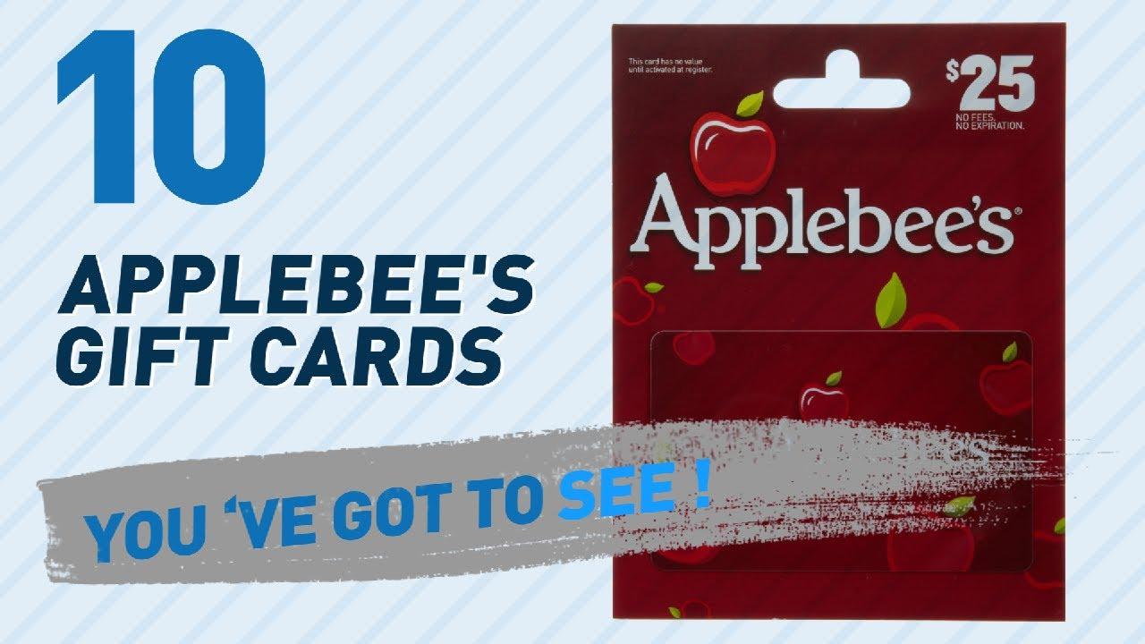 Applebee'S Gift Cards // New & Popular 2017 - YouTube