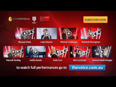 Episode 7 Blind Auditions: The Voice Australia Season 2