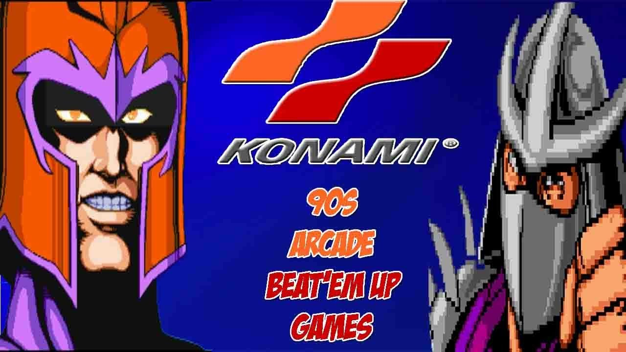 What Happen to 90s Konami Arcade Beat Em Up Video Games