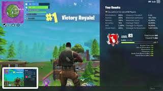Fortnite how much XP do you get out of a squad win
