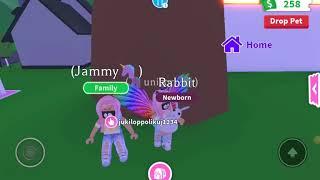 Spielen Roblox , Adopt me (Einhorn Vlogs)