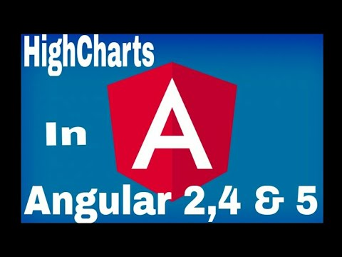 Highcharts in Angular 5, 4 or 2