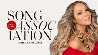 Mariah Carey Sings All of Your Holiday Favorites in a Game of Song Association | ELLE
