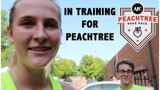 9 MILE RUN (2 weeks out) | Peachtree Prep #10