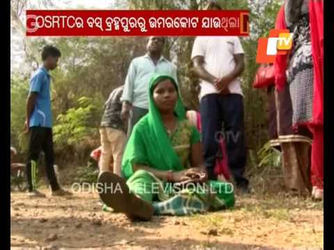 8 passengers injured as Berhampur Umerkote govt bus overturns