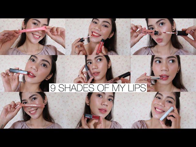 LIP PRODUCTS! || Lip Cream, Lip Tint & Lipstick