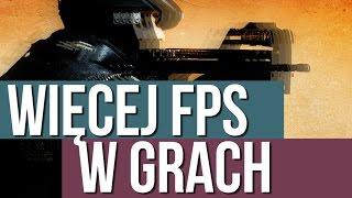 Jak mieć więcej FPS w grach?
