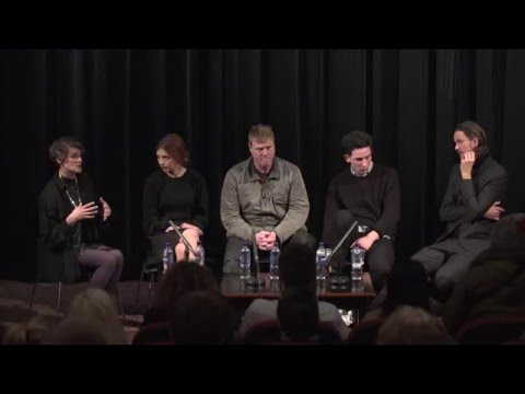Jeppe Rønde, Hannah Murray, Josh O'Connor and Steven Waddington Q&A  Bridgend