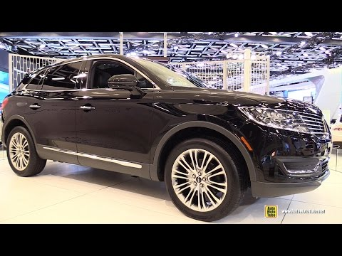 2016 Lincoln MKX 2.7 AWD - Exterior and Interior Walkaround - 2015 Montreal Auto Show